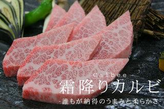 松阪牛A5ランク霜降りカルビこれは最高に高級な肉だ
